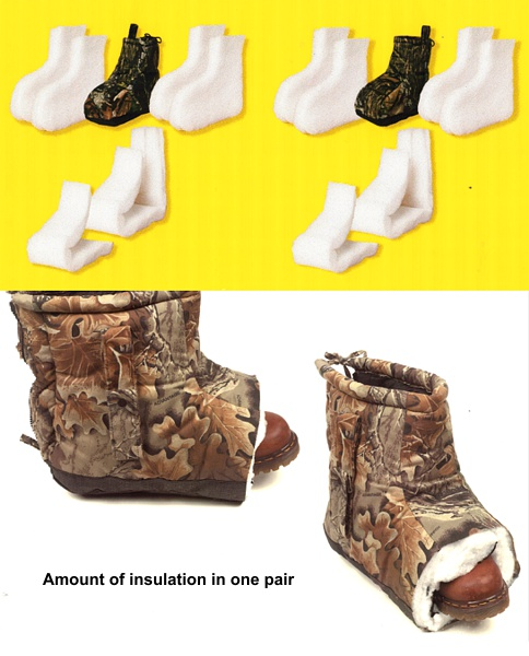 hunting boot Insulation