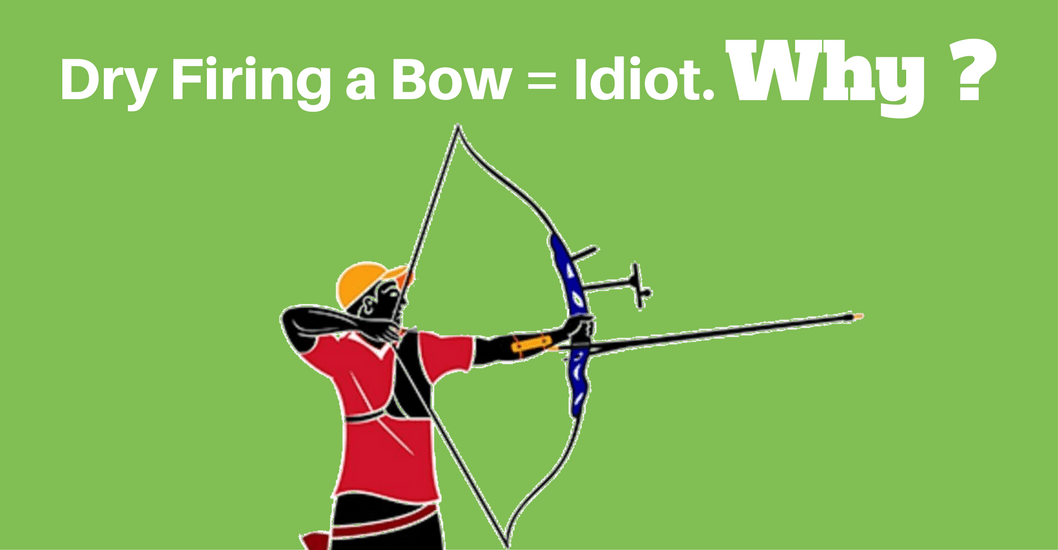 Why Dry Firing a Bow Can Make You Become an Idiot ?