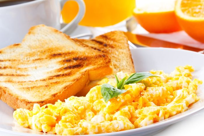 1. Scrambled eggs