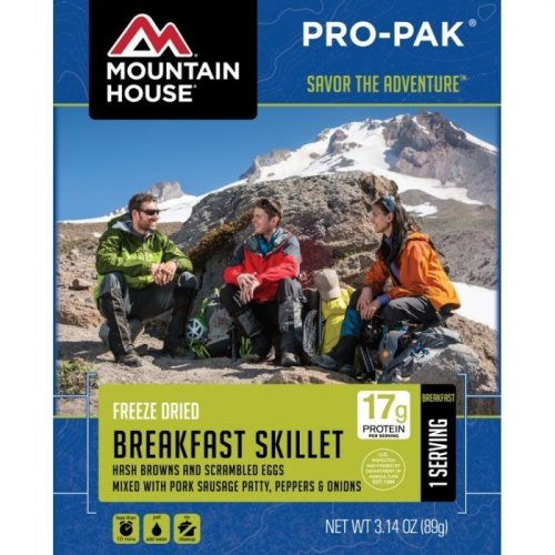9. Mountain House breakfast skillet