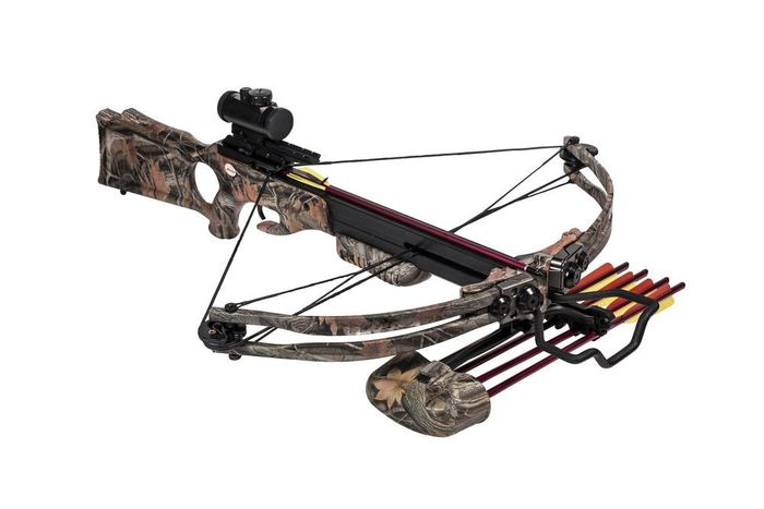 crossbow loaded
