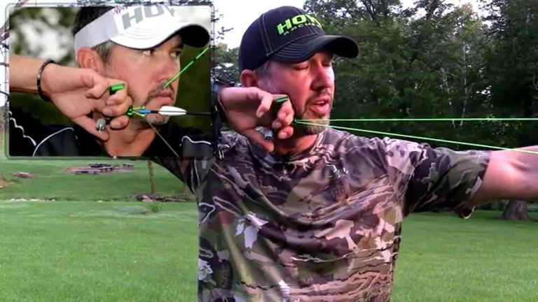 Consider the Length Adjustment of the bow release