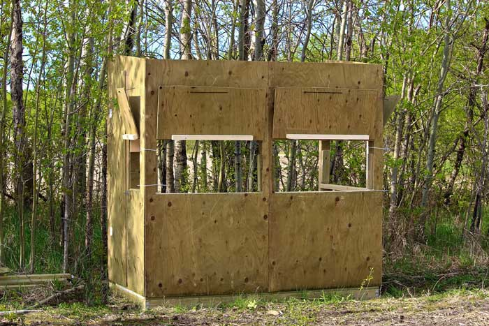 How To Build A Hunting Blind And Save Hundreds Of Bucks