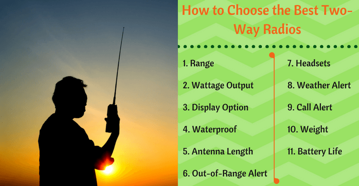 how to choose the best long range 2 way radios