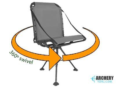 Ground Blind Chair Swivels