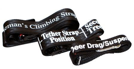Hunter Safety System UltraLite Flex Harness - straps
