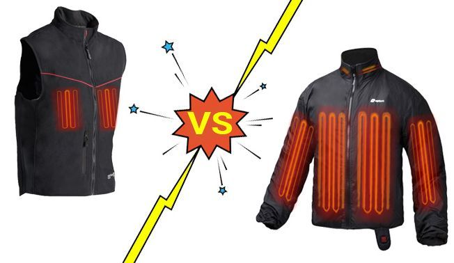Heated Vest vs Heated Jacket