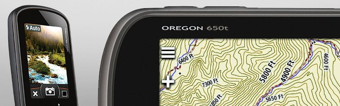 Garmin Oregon 650t - Integrated camera