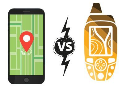 Mobile Map Apps vs Handheld GPS