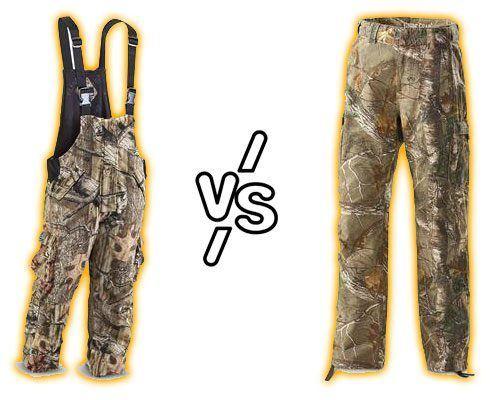 Hunting Bibs vs. Hunting Pants