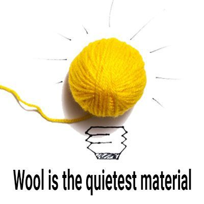 wool is the quietest material for hunting pants