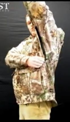 underarm zipper