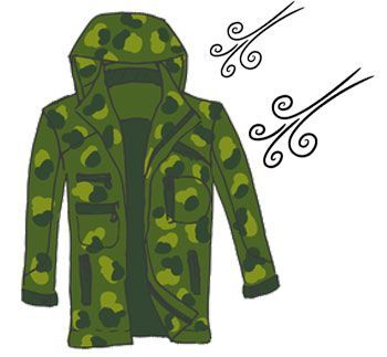 Windproof hunting jackets
