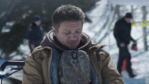 Jeremy Renner (Cory Lambert) uses Badlands Bino Case Mag Hunting Binocular Case