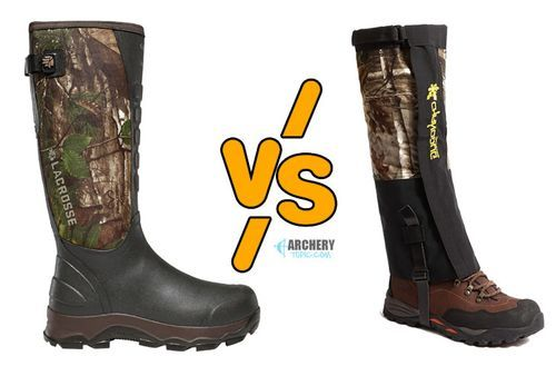 Snake Boots vs Snake Gaiters