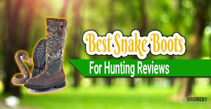 best snake boots for hunting