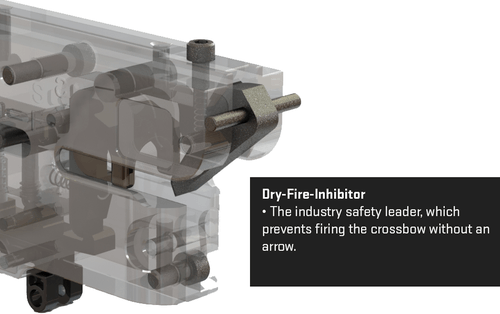 dry fire inhibitor - TenPoint Stealth NXT Crossbow Package with Rangemaster Pro Scope, Quiver, Arrows, and ACUdraw