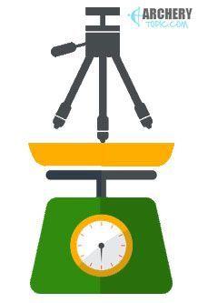 Spotting scope tripod weight