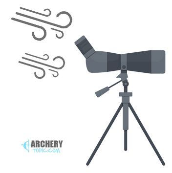 Spotting scope tripod stability