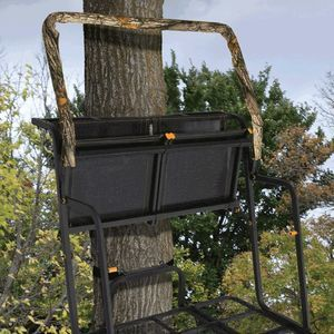 Flipped seat-Muddy Double Ladder stand