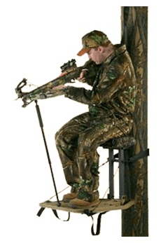 Setting Up a Stand for Crossbow Hunting