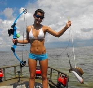 compound bowfishing