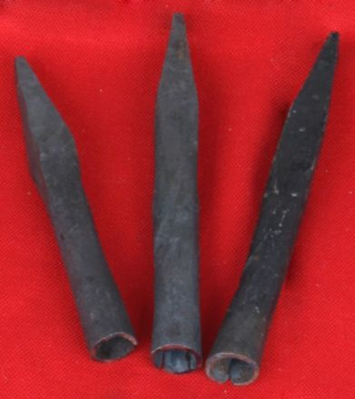 square shaped arrowheads
