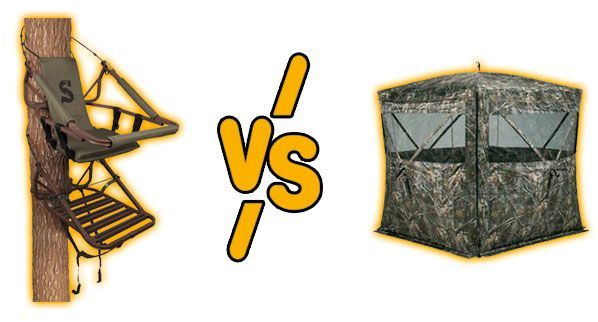 treestand vs ground blind