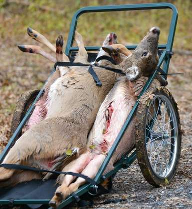 deer game cart