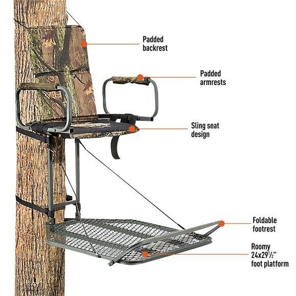 hang on treestand