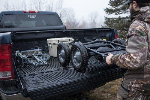 easy to foldup - Hawk Crawler Deer and Multi Use Cart
