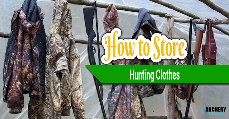 how to store hunting clothes