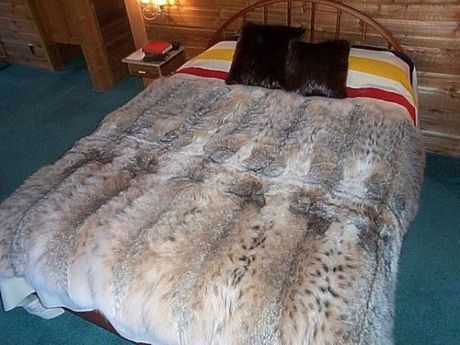 deer hide blanket