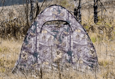 what is a ground blind