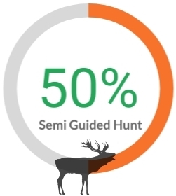 semi guided hunt
