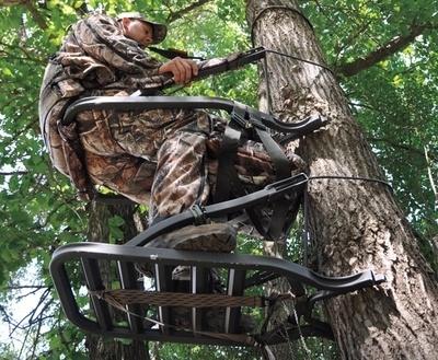 climbing deer stand