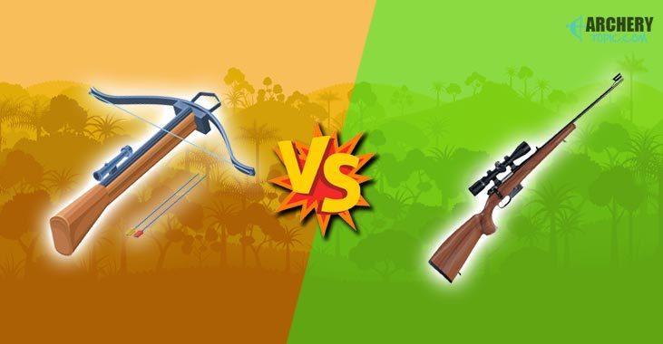 crossbow vs. gun