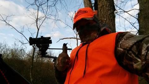 Sony AX100 hunting