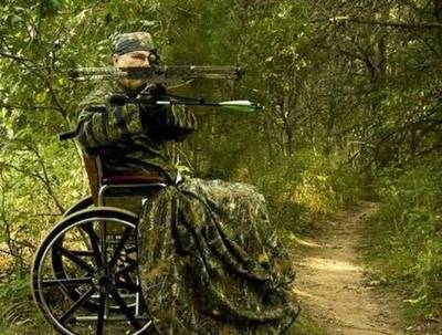 disabled hunter crossbow