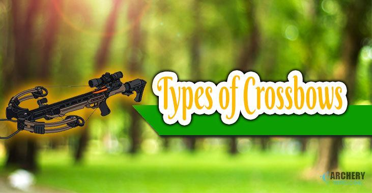 different types of crossbows