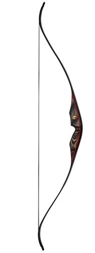 One Piece recurve bow