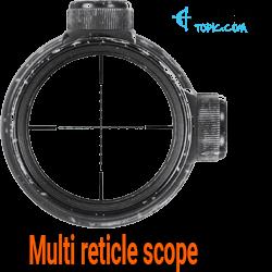 Multi-reticle scope